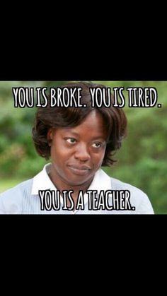 You is a teacher
