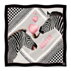 Foulard Zèbres / Original Zebras Scarf available on www.autreshop.cpm !