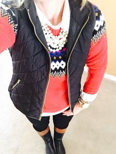 I luv a fair isle sweater on a chilly day.....Old Navy