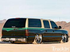 2002 Chevy Suburban - Custom SUV - Truckin' Magazine