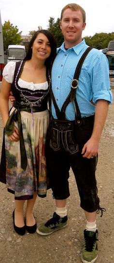 Oktoberfest. We need these outfits!