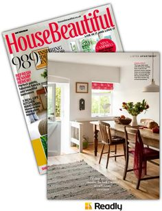Vorschlag zu House Beautiful - UK May 2016 Seite 53 House Beautiful, Beautiful Homes, Love Home, Life Inspiration, Real Life, Home Decor, Magazines, Homes, Nice Asses
