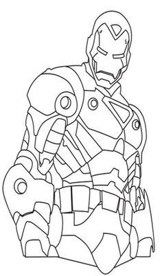 httpwwwsquidoocomiron man coloring