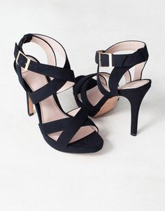 CROSSOVER HIGH HEEL SANDALS - NEW PRODUCTS - WOMAN - Serbia