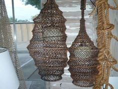 Fish Catcher Hanging Lamps