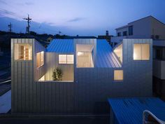 Odd Shaped Houses in Japan Architect: Tomohiro Hata Architect Location: Nagoya, Japan Year build: 2011
