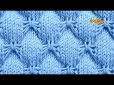Cómo Tejer Punto MARIPOSA - 2 agujas (476) - YouTube Stitch 2, Baby Stitch, Stitch Patterns, Knitting Patterns, Butterfly Stitches, Cutwork Embroidery, Knitting Stitches, Crochet Projects, Wool