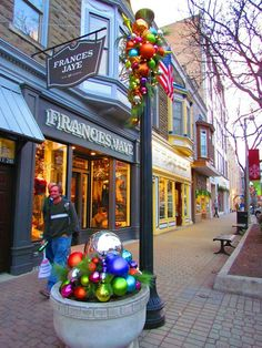 Christmas time in Holland, Michigan