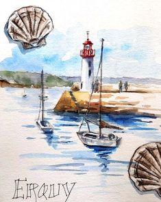 L'été, quand je peux, j'aime bien faire un petit pèlerinage à Erquy où ma grande histoire d'amour avec la Bretagne a commencé il ya bientôt ...