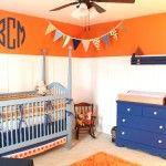 Orange/Blue Nursery