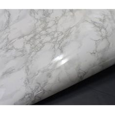 White Granite Look Marble Effect Counter Top by verryberrysticker
