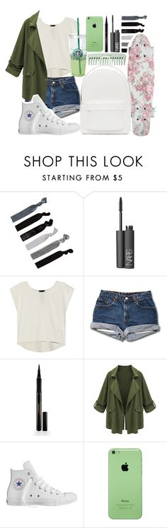 """""""For Rachel"""" by soccertaya ❤ liked on Polyvore featuring France Luxe, NARS Cosmetics, Poleci, Elizabeth Arden, Converse and PB 0110"""