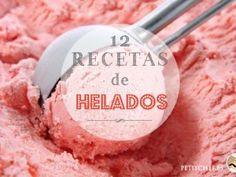 12 recetas de helados