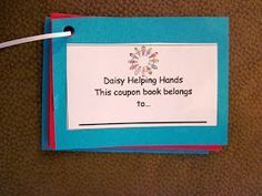 Troop 1138 Daisy Friendly and Helpful Helping Hands Coupon Book Girl Scout Daisy Petals, Daisy Girl Scouts, Girl Scout Leader, Girl Scout Troop, Scout Mom, Cheap Flower Delivery, Girl Scout Promise, Girl Scout Activities, Girl Scout Crafts