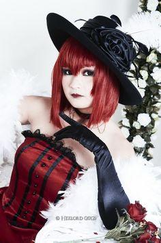 This is a great Madame Red cosplay! Win! #Kuroshitsuji