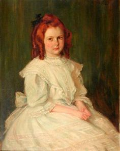 Portrait Of A Young Girl (Mary McCandless)
