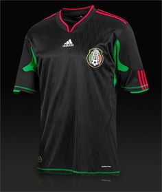 906aa27ea adidas Mexico Away SS Shirt - Black Green Red