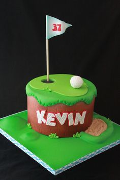 Golf cake | Flickr: Intercambio de fotos