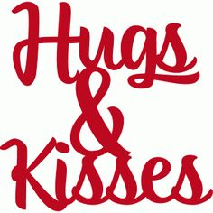 Silhouette Design Store - View Design #53709: hugs and kisses