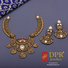 Industrious Exclusive Matte Finish Clear Kundan Choker Bridal Wedding Gold Jewellery Set Without Return Bridal & Wedding Party Jewelry Engagement & Wedding