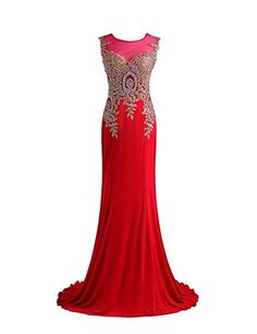 Fancode Women's Long Beaded Applique Prom Dress For Formal Party Fancode http://www.amazon.com/dp/B01D4N6L8O/ref=cm_sw_r_pi_dp_nOk7wb0Z2JR8P