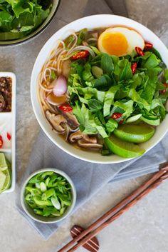vietnamese style vegan pho