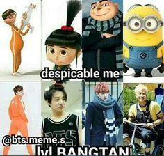 Page 2 Read bts from the story k-pop memes by (Mina) with 154 reads. Bts Taehyung, Bts Bangtan Boy, Bts Boys, Namjoon, Jimin, K Pop, Bts Memes Hilarious, Bts Funny Videos, Vkook Memes