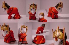 custom my little pony - queen amidala