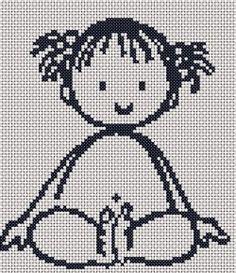 Free cross stitch chart for nursery