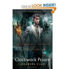 Clockwork Prince: Amazon.ca: Cassandra Clare: Books