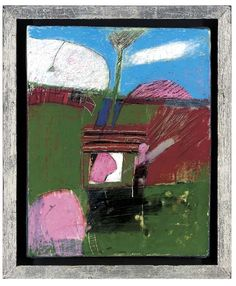 In the Garden - Roger Cecil Color Shapes, Auction, My Eyes, Valley Landscape, Museum, Artist, Paintings, Artwork, Magazine Art