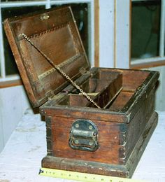 Antique tool chest.***Research for possible future project.