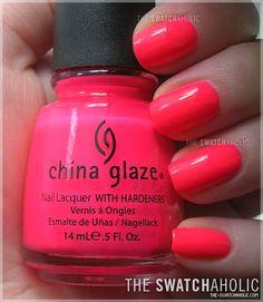 China Glaze - Pool Party (best color I've ever put on!)