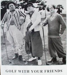 I'd golf with these guys any day! I Rock Bottom Golf #rockbottomgolf