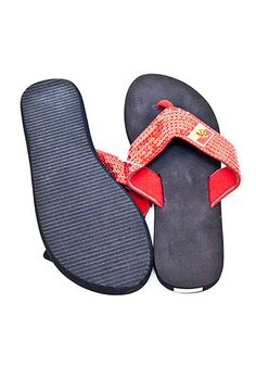 f87f3556920c Pitt State Gorillas Red and Black Sequin Womens Flip Flops - 9029586