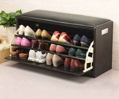Online Shop 2015 High Quality Shoe Cabinet Shoes Racks Storage Large Capacity Home Furniture DIY Simple Fashion Layers Shoe Storage Stool, Shoe Storage Cabinet, Diy Storage, Storage Ideas, Wood Storage, Shoe Cabinet Design, Bedroom Storage, Storage Cabinets, Shoe Hanger