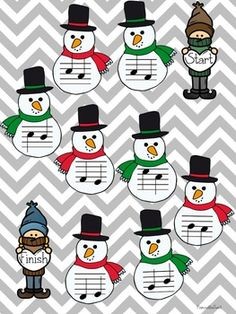 Winter Music Game Bundle Level four games, zero prep! Piano Games, Music Games, Piano Music, Music Lesson Plans, Music Lessons, Game Zero, Music Classroom, Music Education, Games To Play