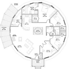 floor plans for a wooden yurt home | Dream floor plan | Home Yurt fun!