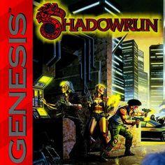 Very first import game - #Shadowrun #retrogaming #sega #megadrive #rpg #crpg #gamersunite
