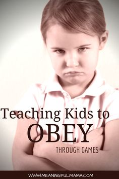 """Teaching Kids to Obey with a Happy Heart I was having problems with my kids listening to me. They would completely ignore me or just not obey. They'd get a consequence for not obeying right away, but it didn't seem to be working. I asked for some advice, and this was the tip, """"Train them to say 'Yes, Mommy' in a fun way."""" The concept is that by saying, """"Yes, Mommy,"""" it acknowledges that… <a href=""""http://meaningfulmama.com/2012/01/day-4-tip-of-day-yes-mommy.html"""">{Read More}</a>"""