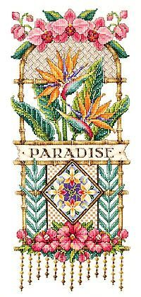 janlynn platinum collection birds of paradise - Google Search