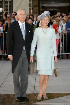 Archduke Carl Christian of Austria and his wife Princess Marie-Astrid of Luxembourg*