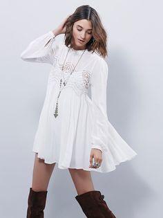 Loose Beige Sweater Dress