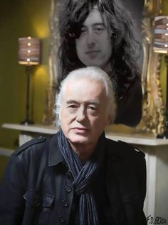 http://custard-pie.com/ Jimmy Page ~ then and now.