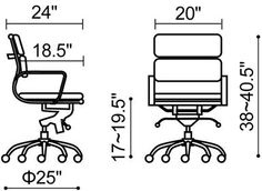 Office Chair Diagram Wedding Covers Scunthorpe 25 Best Drafting Images Business Furniture Floor Design Plans Dimensions Black Modern Contemporary