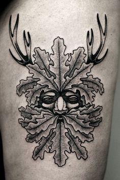 Kamil Czapiga dotwork tattoo