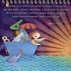 docente-4 Teachers' Day, Chalk Art, Family Guy, Teaching, Education, Words, Children, School, Illustration