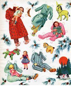 Kathleen Taylor's Dakota Dreams: Thursday Tab- Saalfield Honey Kitten * 1500 free paper dolls international artist and writer Arielle Gabriel's The International Paper Doll Society free paper dolls for Pinterest pals *