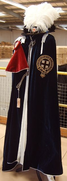 The Order ofthe Garter Mantle and Insignia~