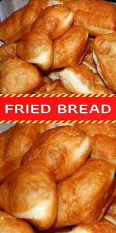 FRIED BREAD – Laura Recipes Easy Fry Bread Recipe, Fried Bread Recipe, Bread Recipes, Baking Recipes, Homemade Dinner Rolls, Dinner Rolls Recipe, Easy Homemade Recipes, Fried Biscuits, Fresh Bread